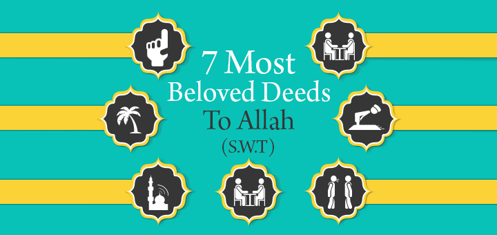 Most Beloved Deed to Allah SWT