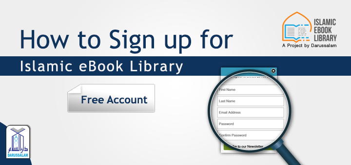Islamic eBook Library Free Sign up Tutorial