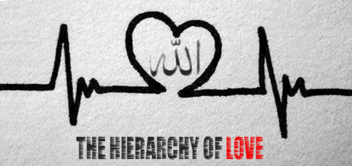 The Hierarchy of Love