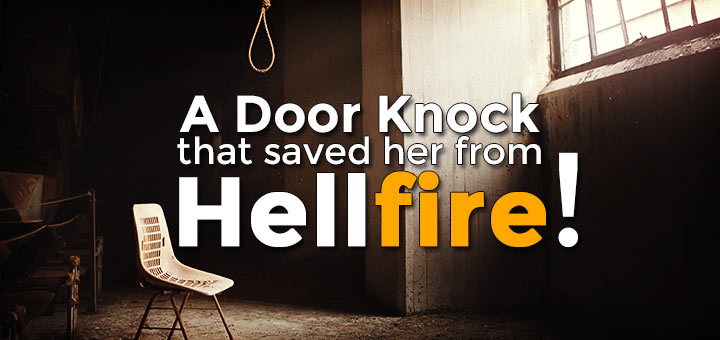 dawah (islamic preaching) saved her from hellfire