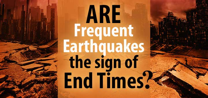 earthquakes the sign of qayamah