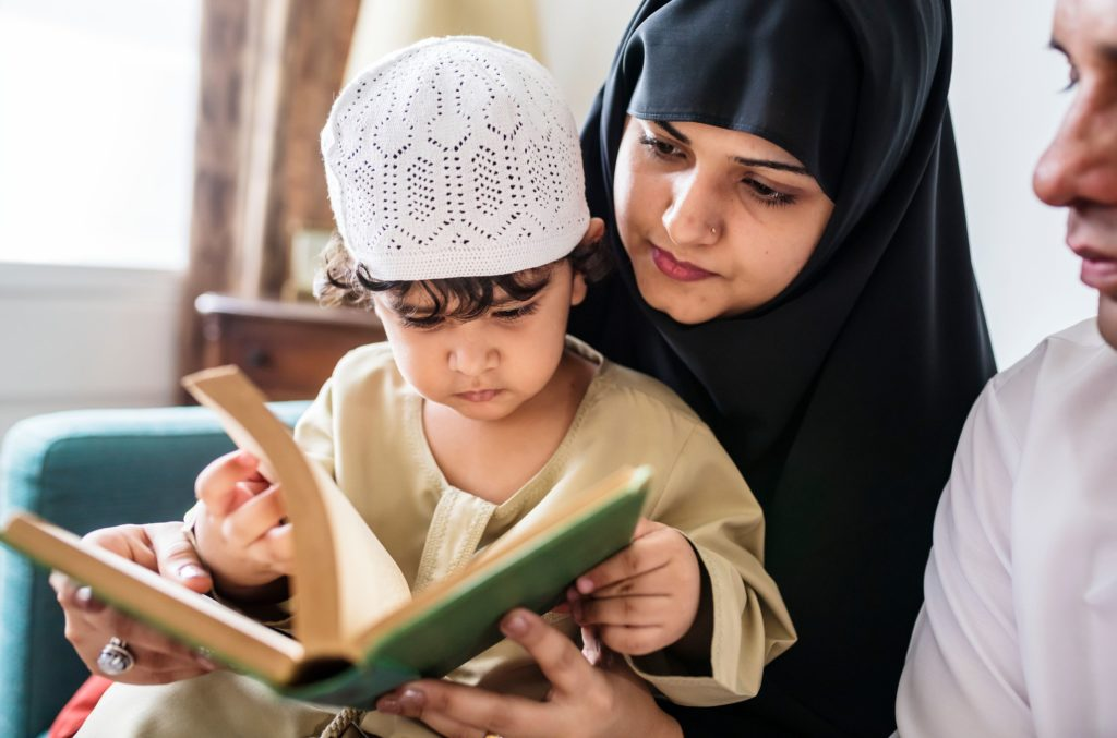 teaching children Islam