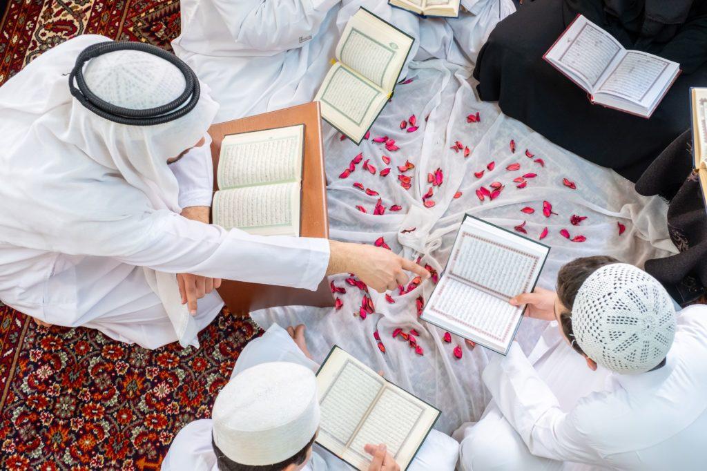 Reciting the Quran