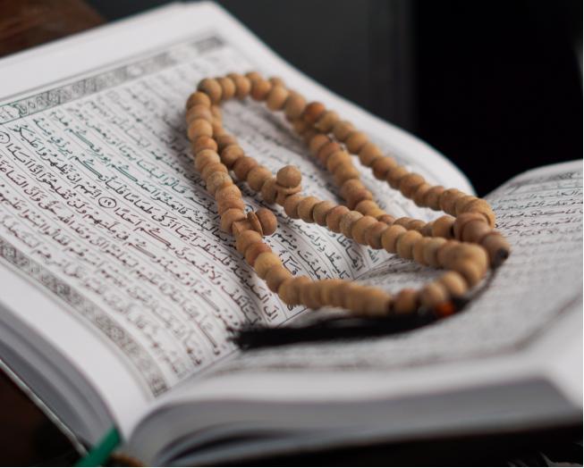 Quran and tasbih
