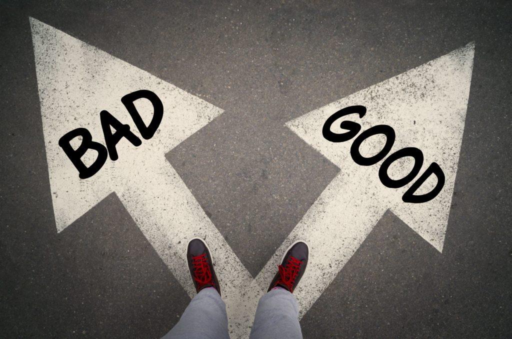 good vs bad in Islam